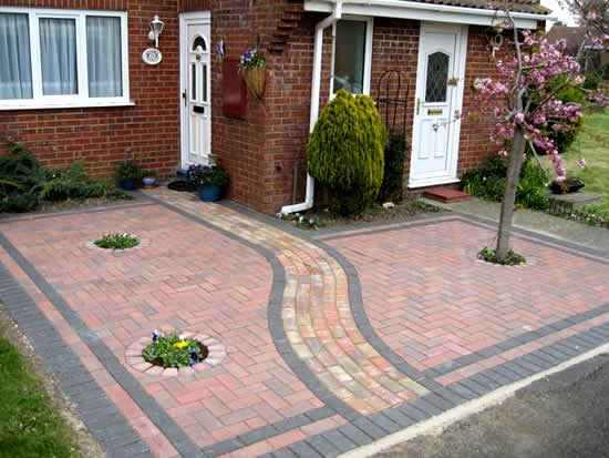 garden design ideas paving photo - 10