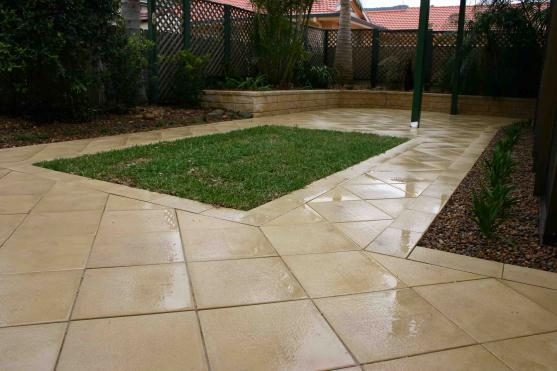 garden design ideas paving photo - 3