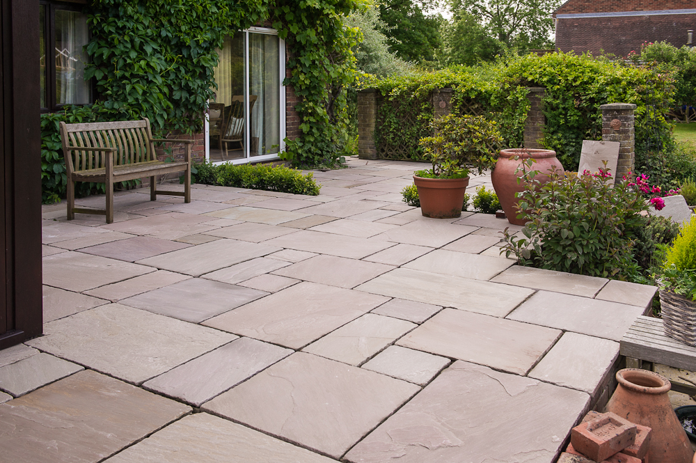 garden design ideas paving photo - 4