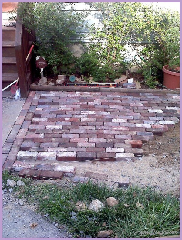 garden design ideas paving photo - 6
