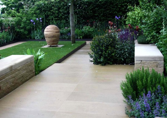 garden design ideas paving photo - 8