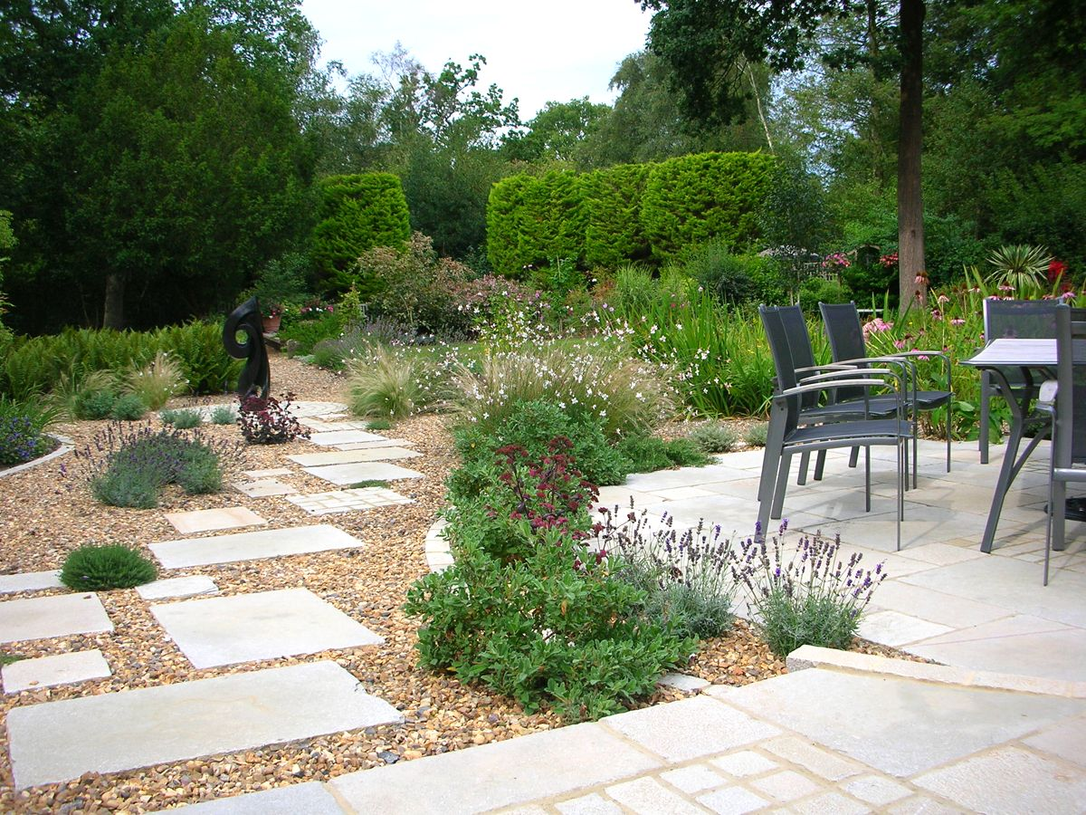 garden design ideas paving photo - 9