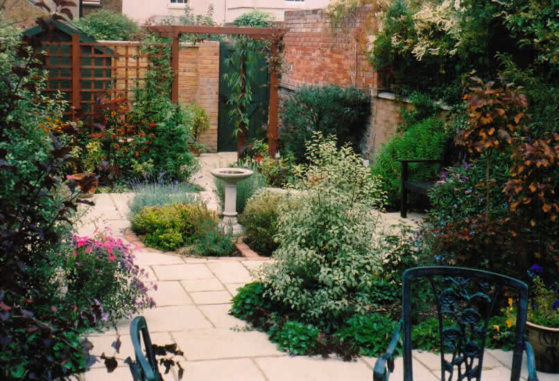 garden design ideas victorian terrace photo - 1