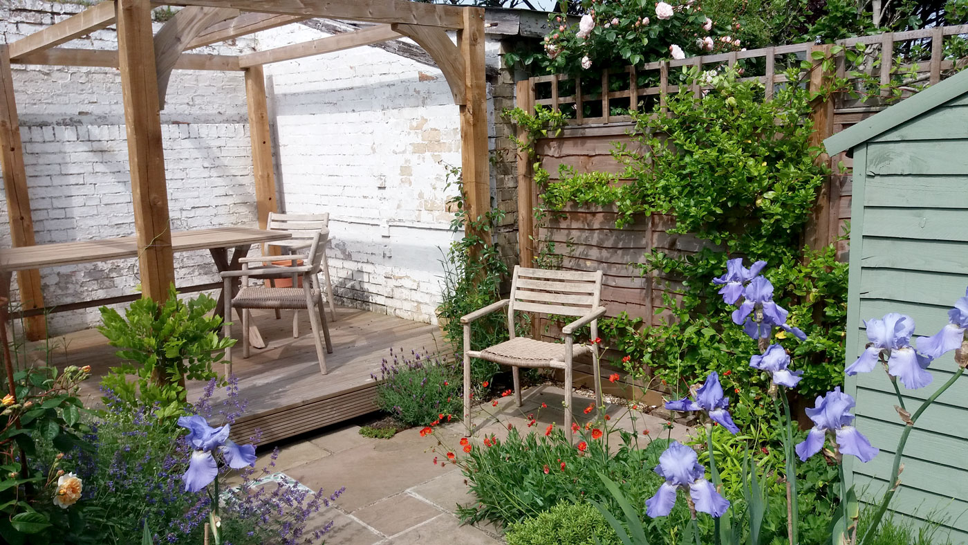 garden design ideas victorian terrace photo - 10