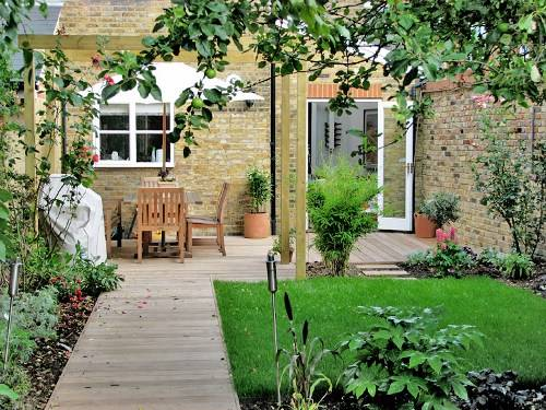 garden design ideas victorian terrace photo - 2