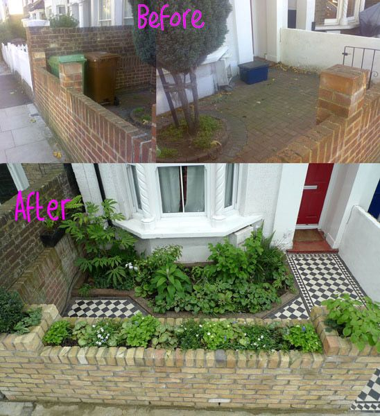garden design ideas victorian terrace photo - 8