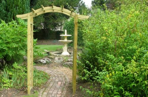 garden entrance ideas photo - 1