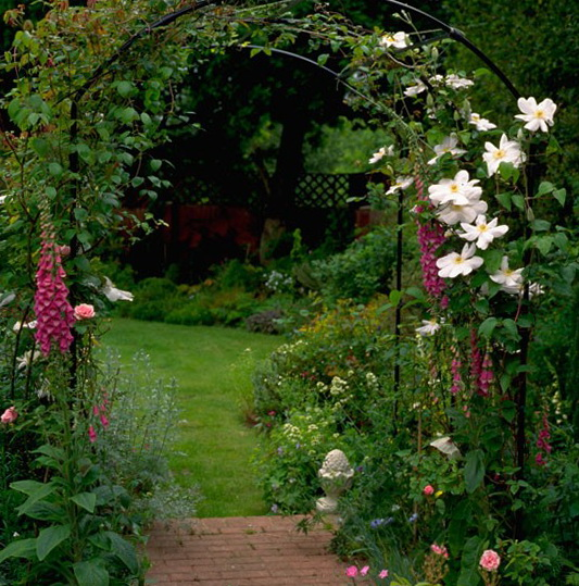 garden entrance ideas photo - 3