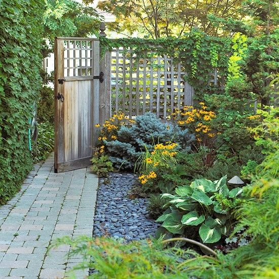 garden entrance ideas photo - 7