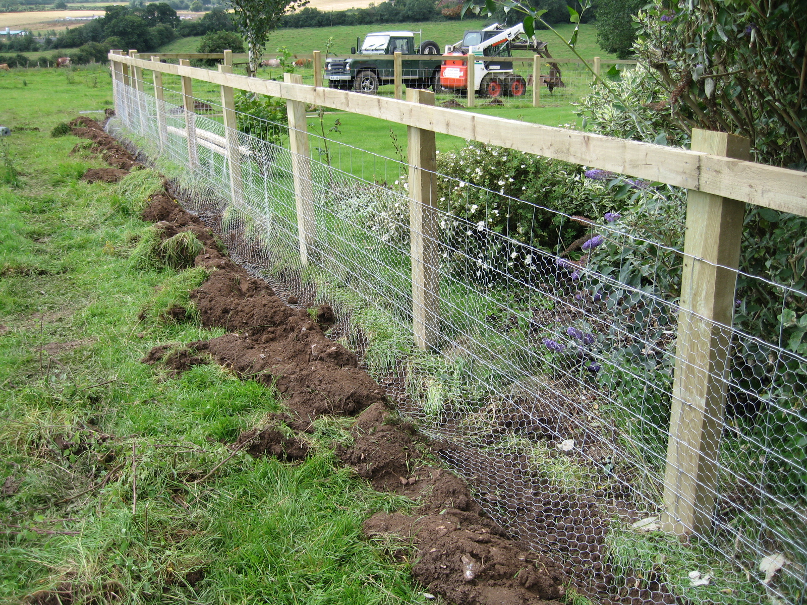 garden fence ideas for rabbits photo - 1