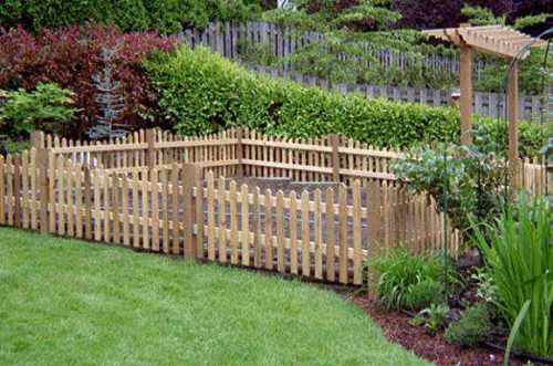 garden fence ideas for rabbits photo - 4
