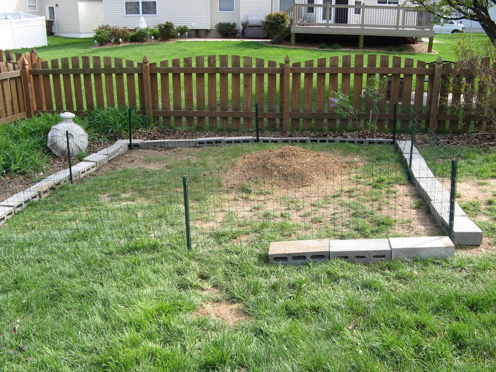 garden fence ideas for rabbits photo - 7