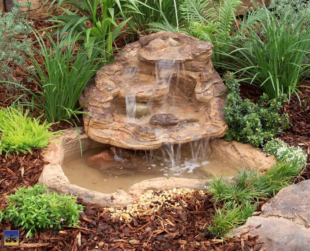 garden pond fountain ideas photo - 4