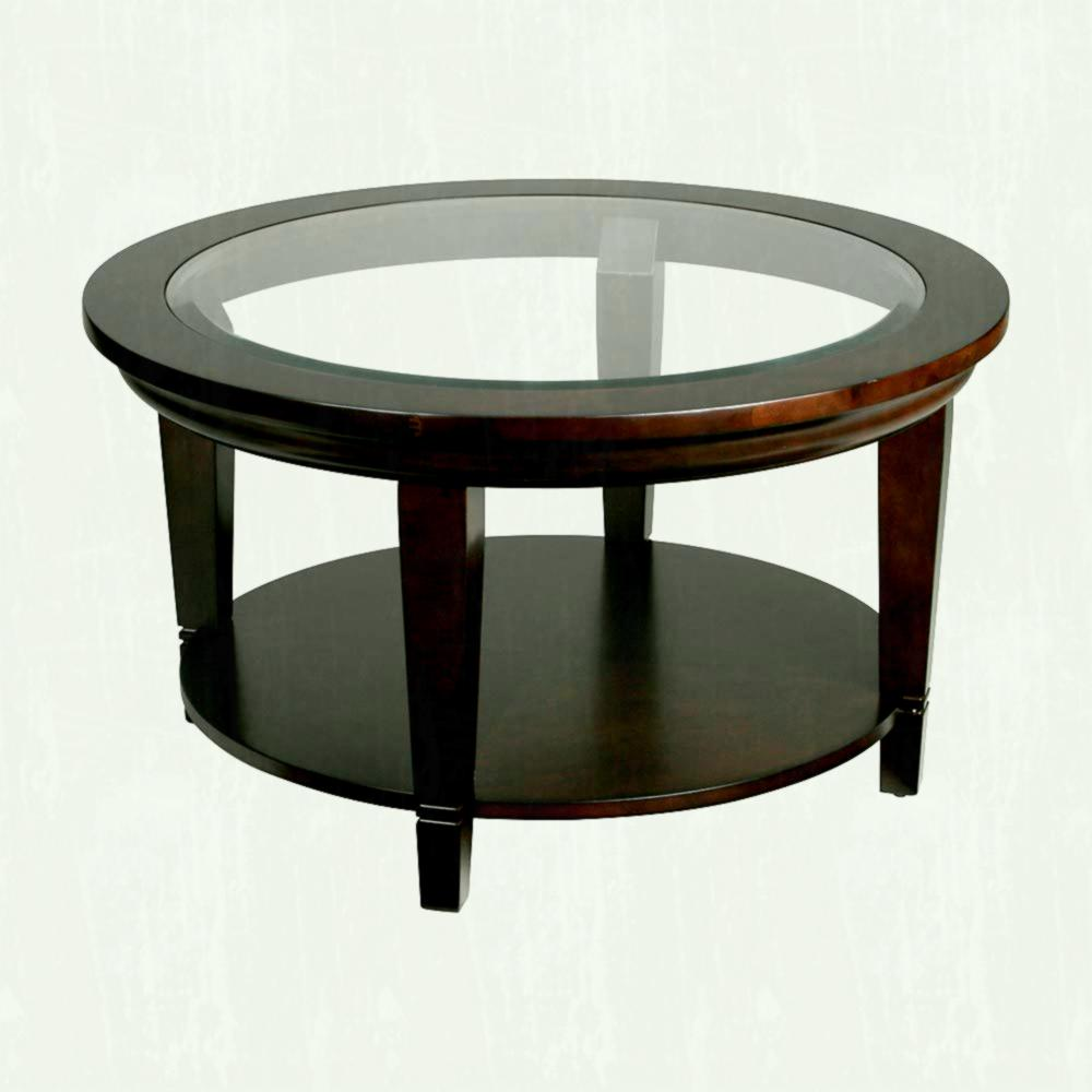 glass coffee table design classic photo - 5