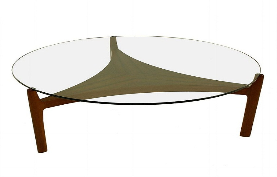 glass coffee table design within reach photo - 2