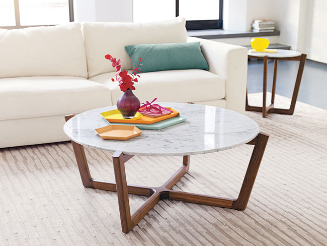 glass coffee table design within reach photo - 8