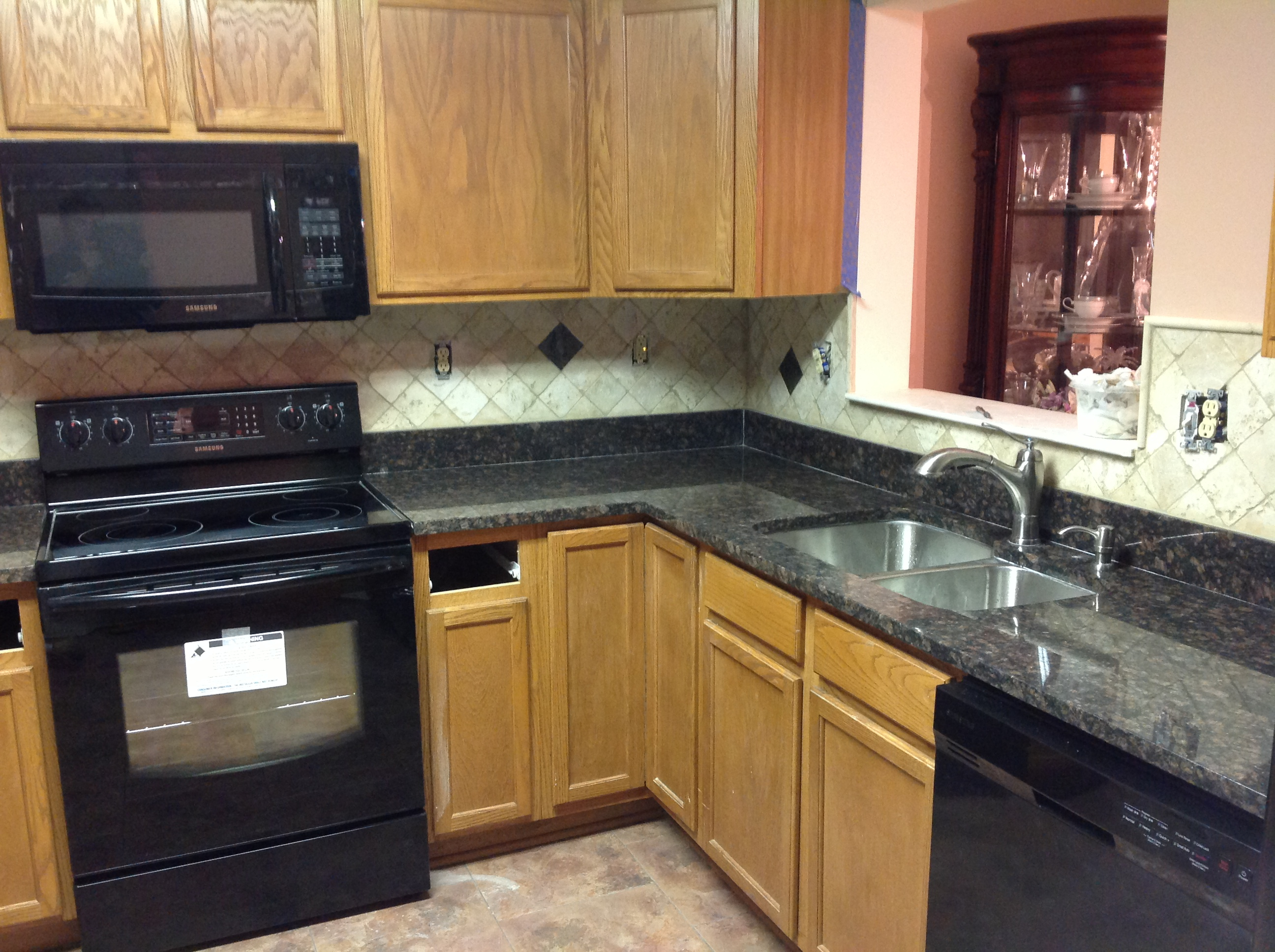 granite kitchen designs photo - 1