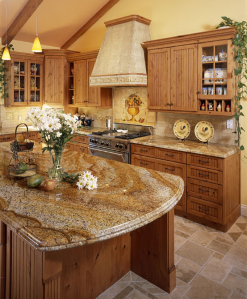 granite kitchen designs photo - 10