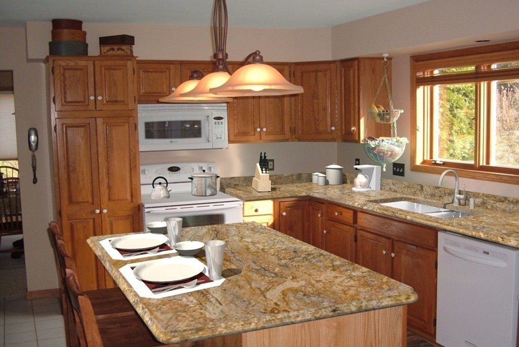 granite kitchen designs photo - 7
