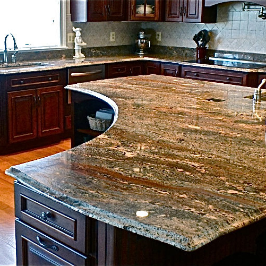granite kitchen pics photo - 10