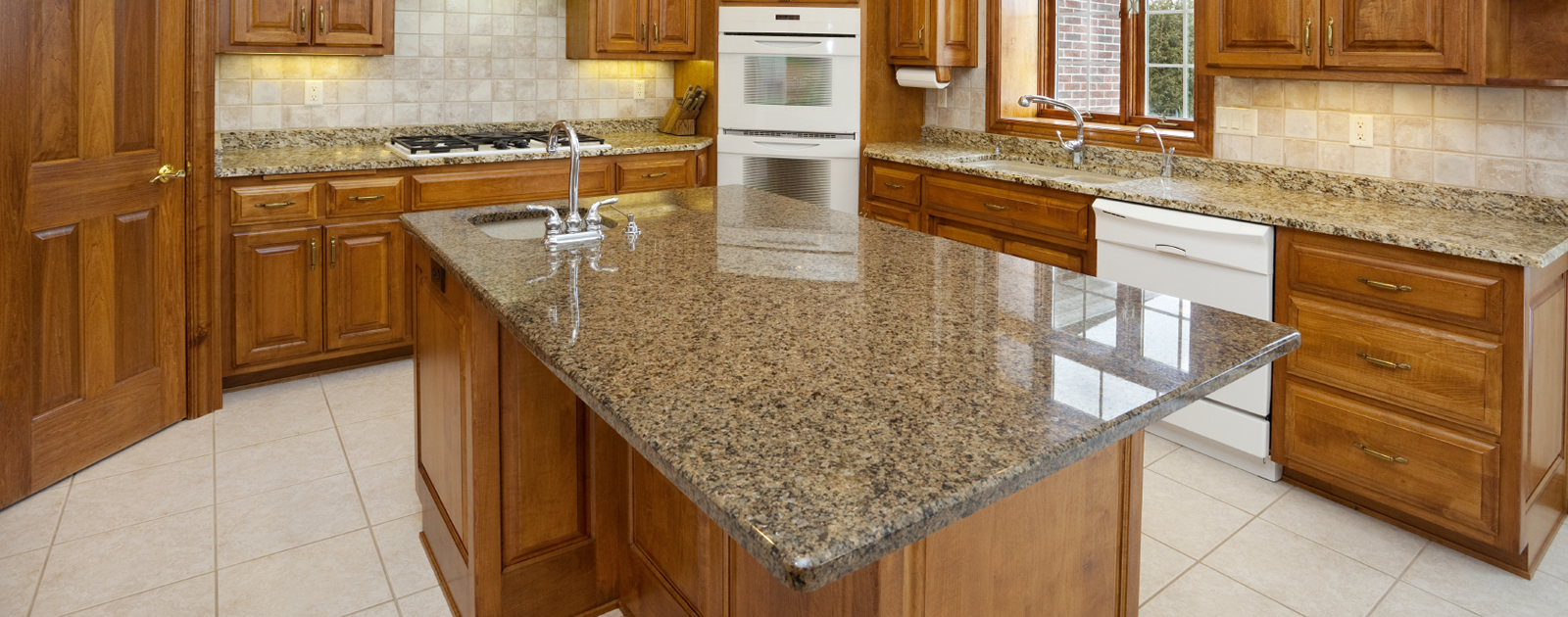 granite kitchen pics photo - 5