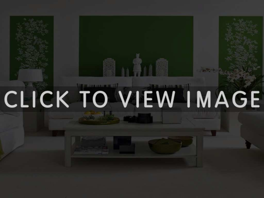 green room with white furniture photo - 8