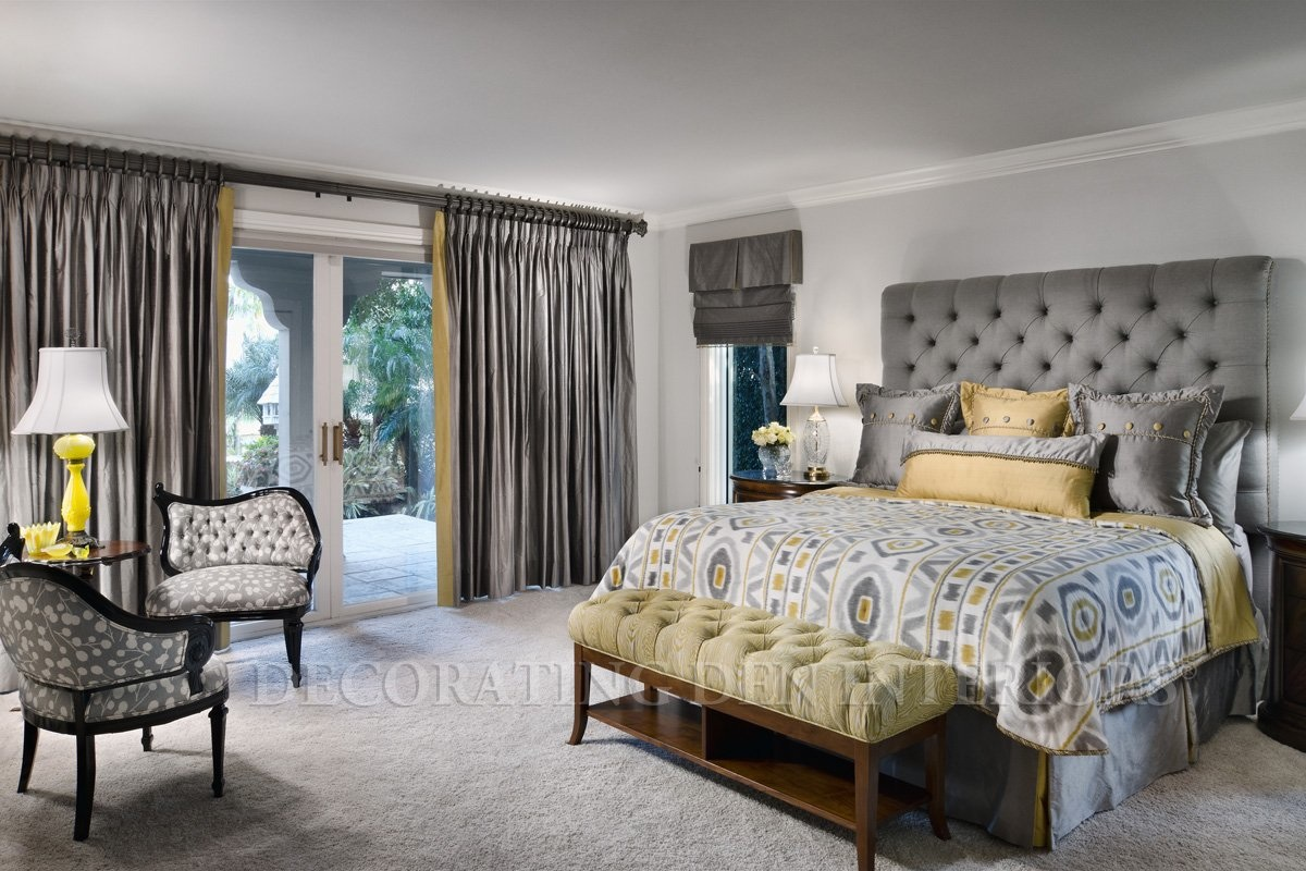 grey bedroom ideas decorating photo - 3