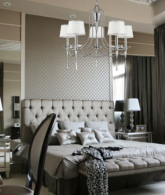 grey bedroom ideas decorating photo - 6