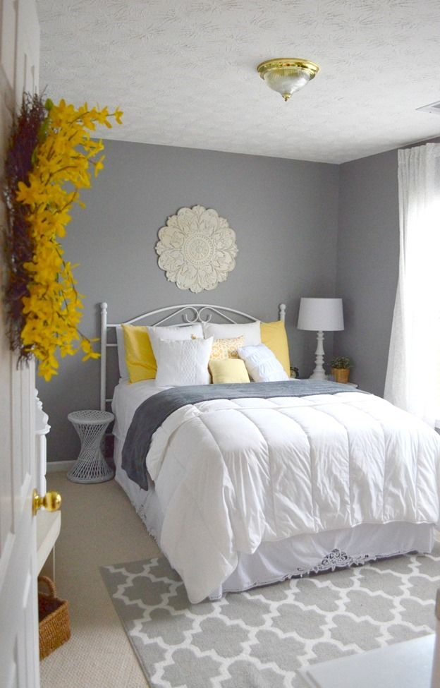 grey bedroom ideas decorating photo - 8