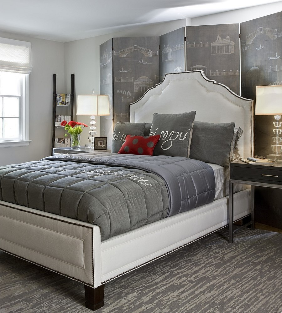 grey bedroom ideas decorating photo - 9