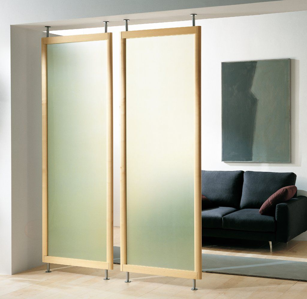 hanging door room divider photo - 7