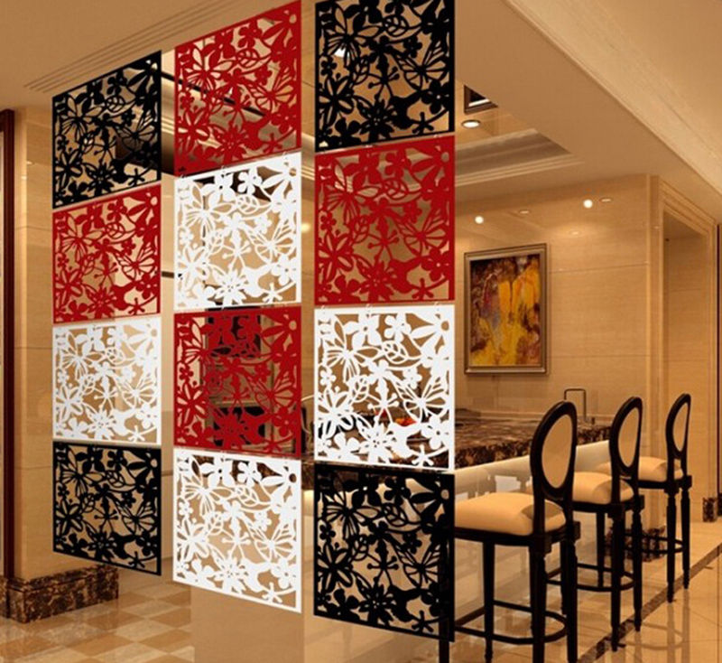 hanging room divider curtains photo - 3
