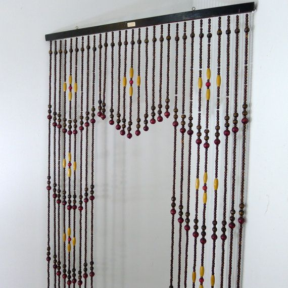 hanging room dividers beads photo - 1