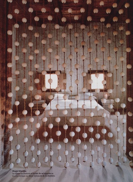 hanging room dividers beads photo - 2