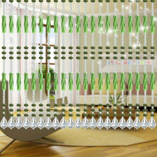 hanging room dividers beads photo - 4