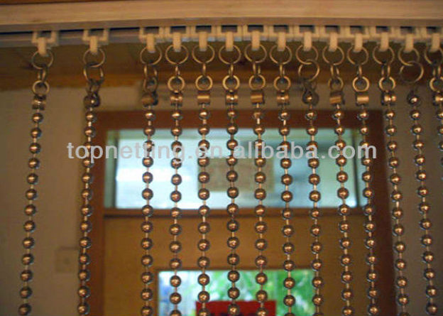 hanging room dividers beads photo - 9