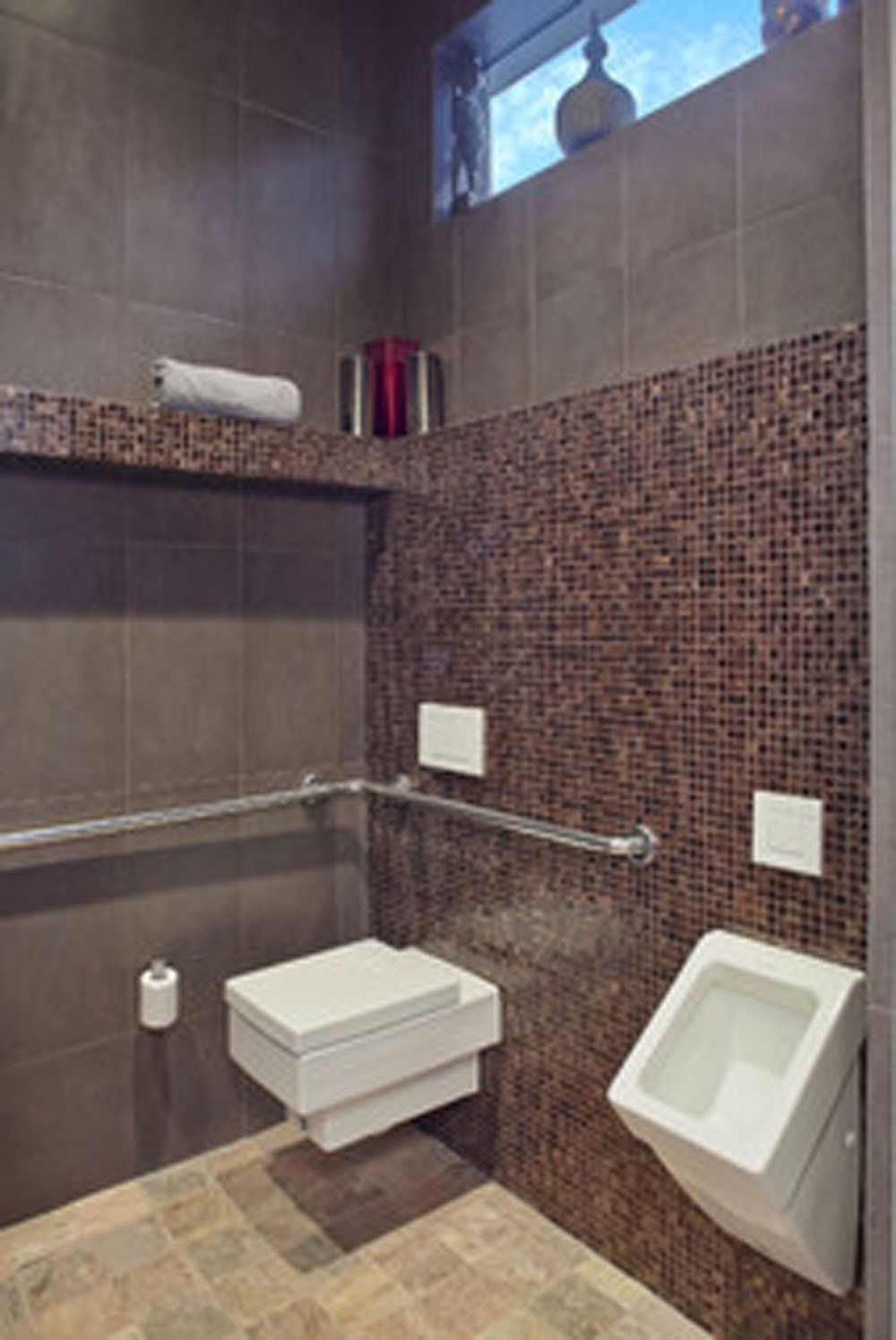 home bathrooms with urinals photo - 8