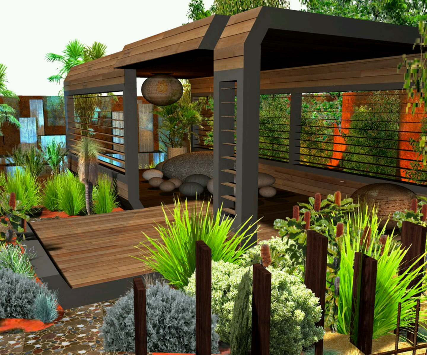 home garden design ideas photo - 4