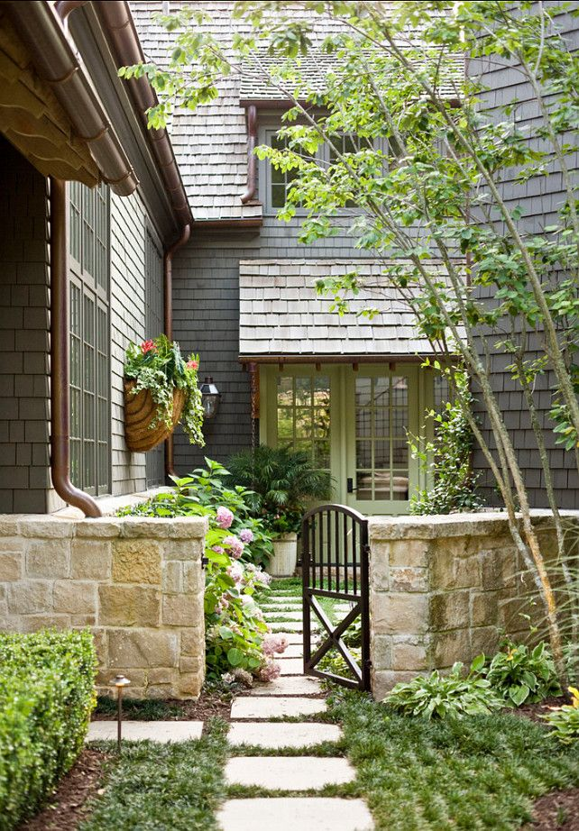 house entrance garden ideas photo - 1