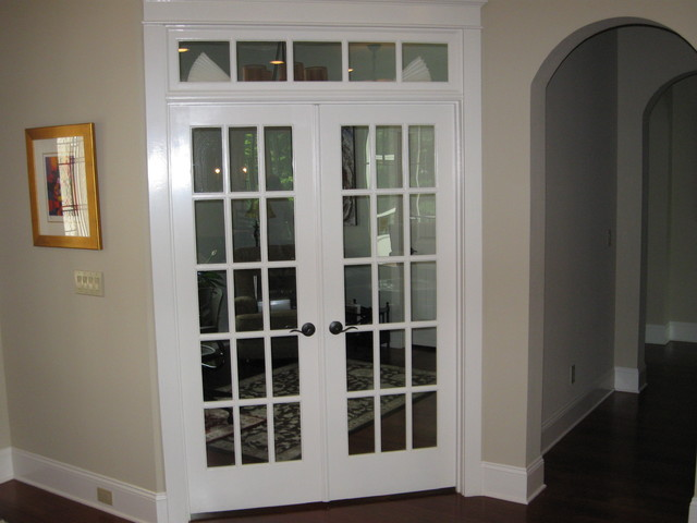 interior french doors for office photo - 2