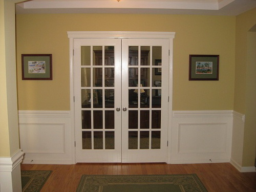 interior french doors for office photo - 3