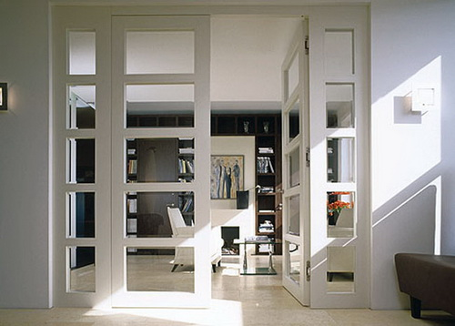 interior french doors for office photo - 8