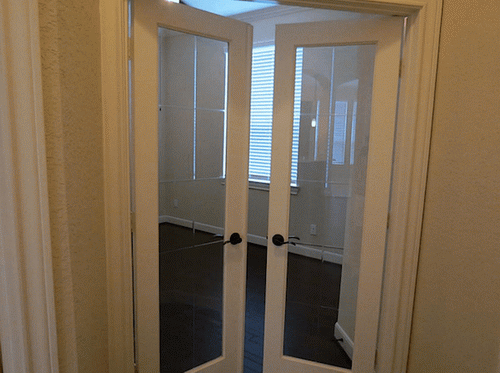 interior french doors for office photo - 9