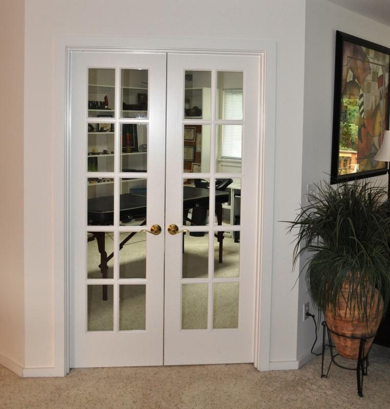interior french doors with sidelites photo - 2