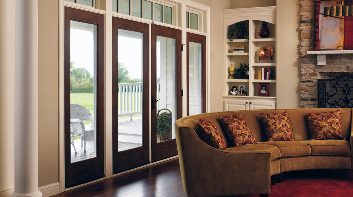 interior french doors with sidelites photo - 5