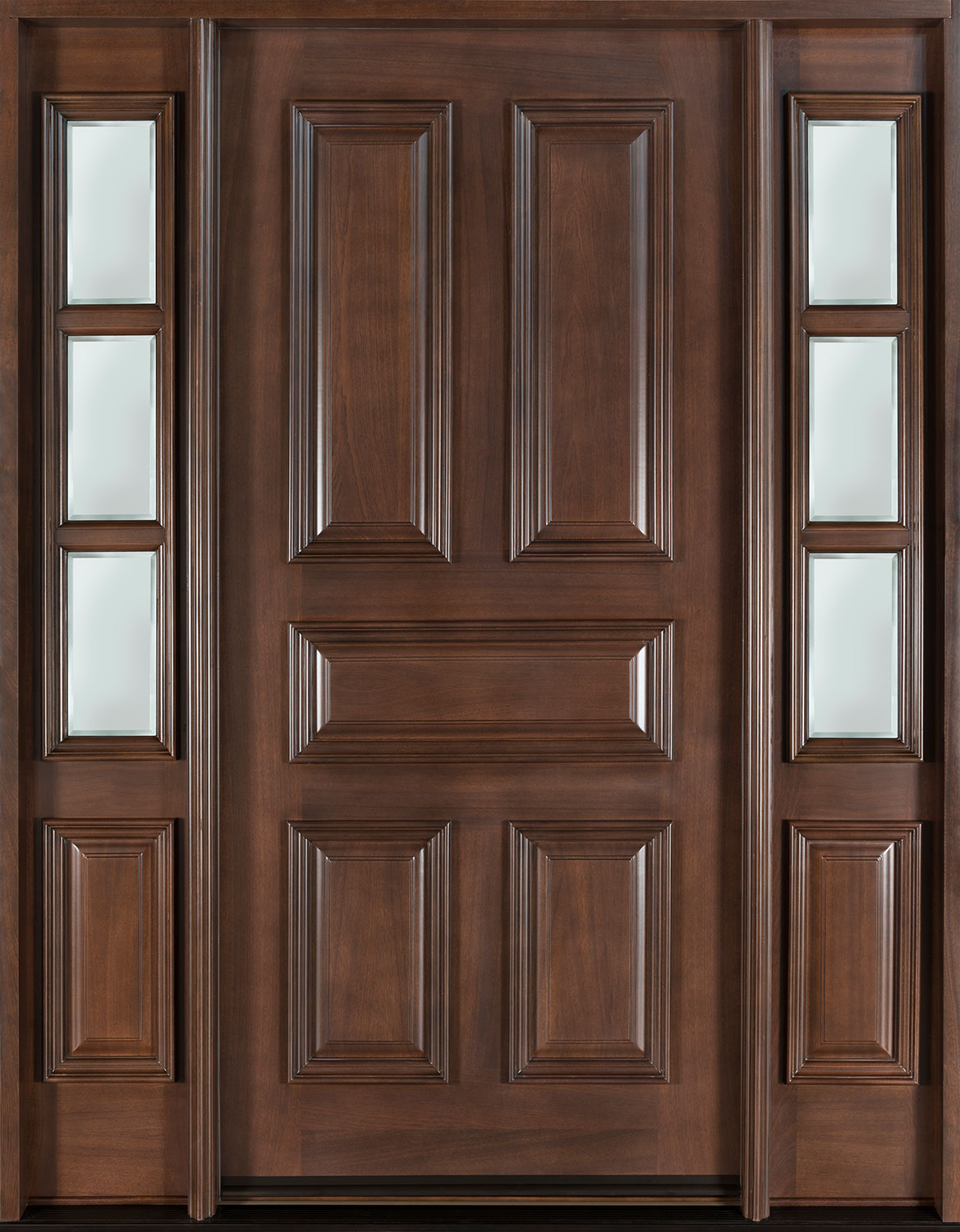 interior french doors with sidelites photo - 6