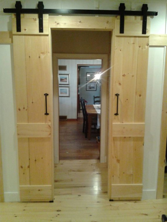 interior sliding doors barn style photo - 1