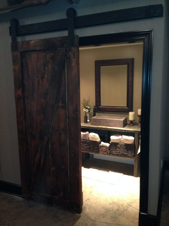 interior sliding doors barn style photo - 2