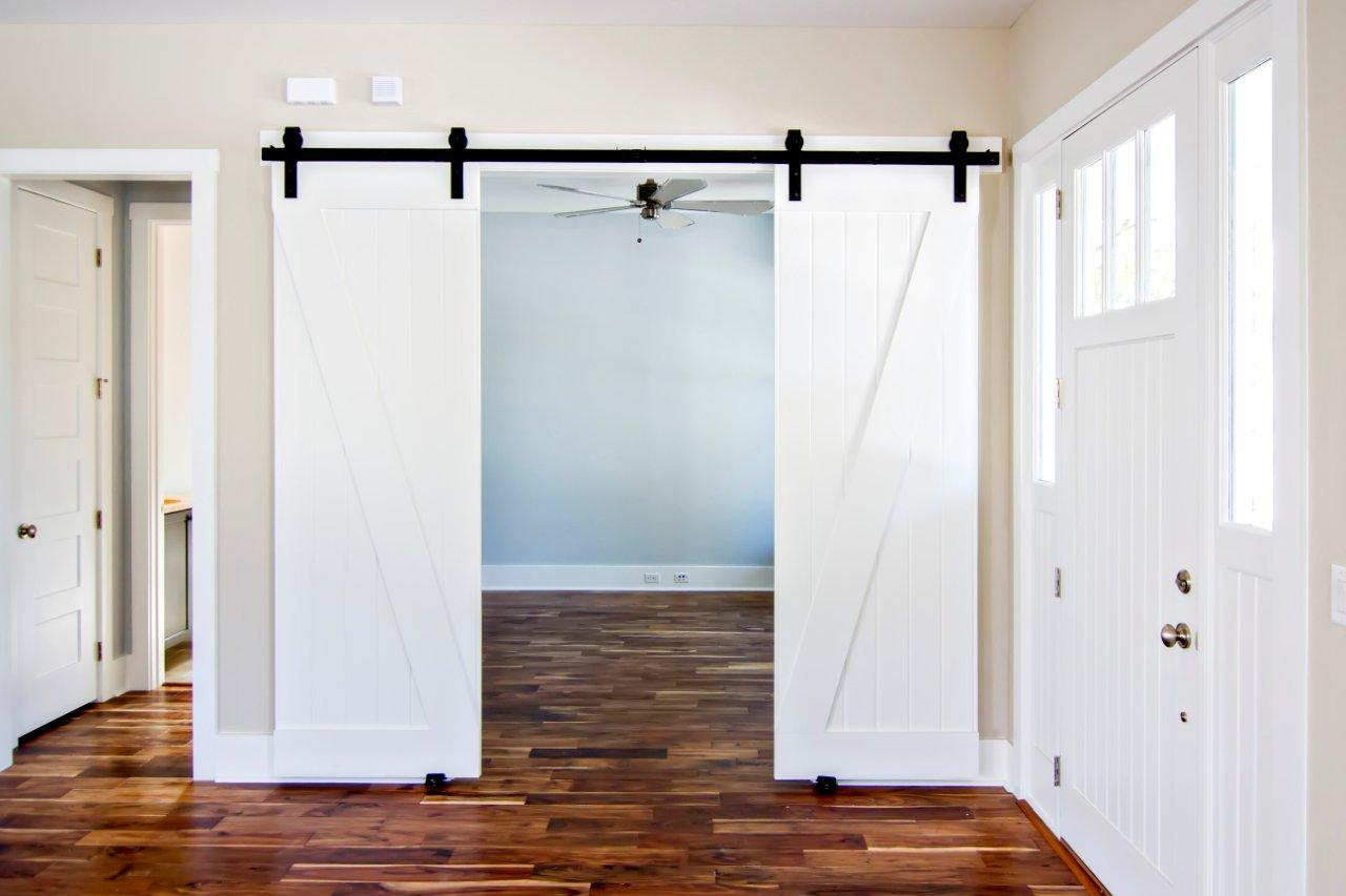 interior sliding doors barn style photo - 3