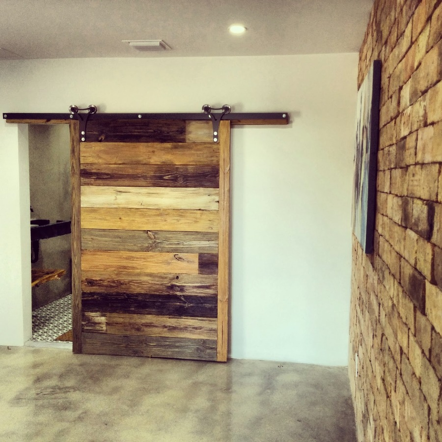 interior sliding doors barn style photo - 4